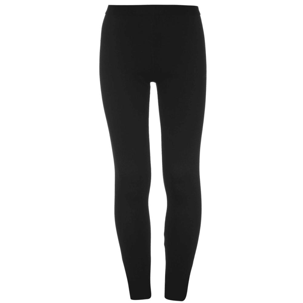 Campri Boys Thermal Base Layer Pants - Black, 2/3
