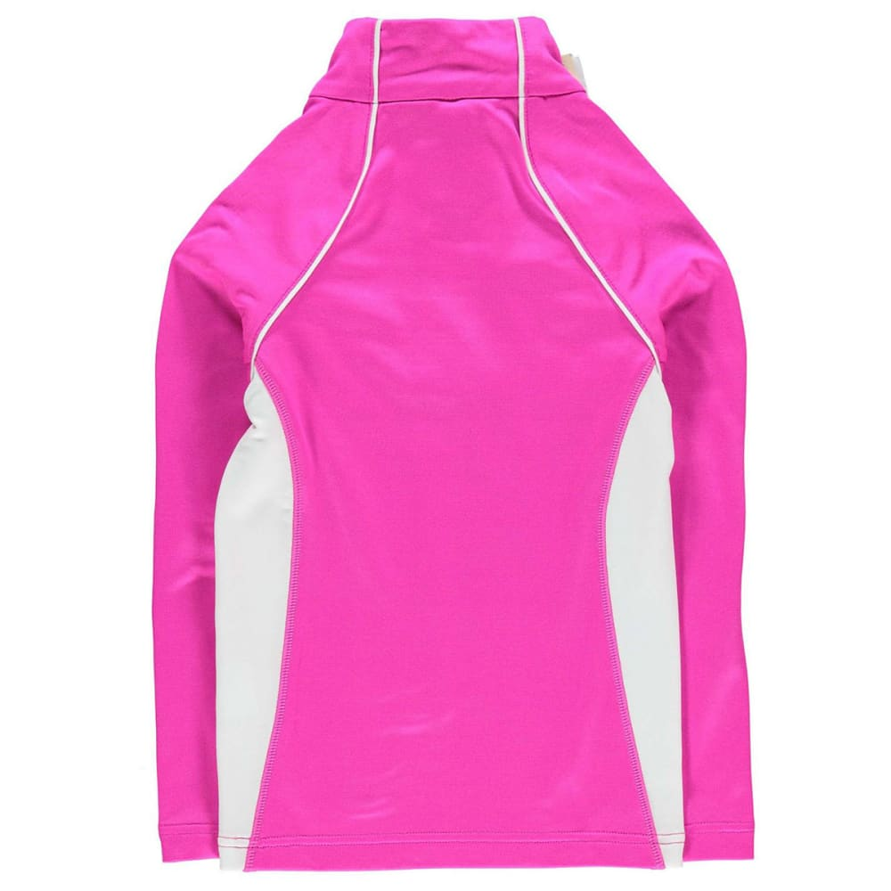 NEVICA Toddler Unisex Vail Zip Base Layer Long-Sleeve Top - PINK
