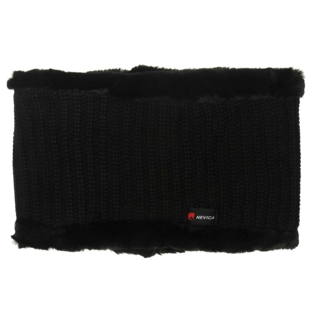 NEVICA Knit Fleece Skuff - BLACK