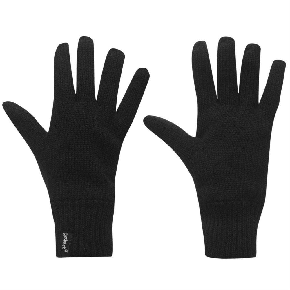 GELERT Men's Thinsulate Gloves - BLACK