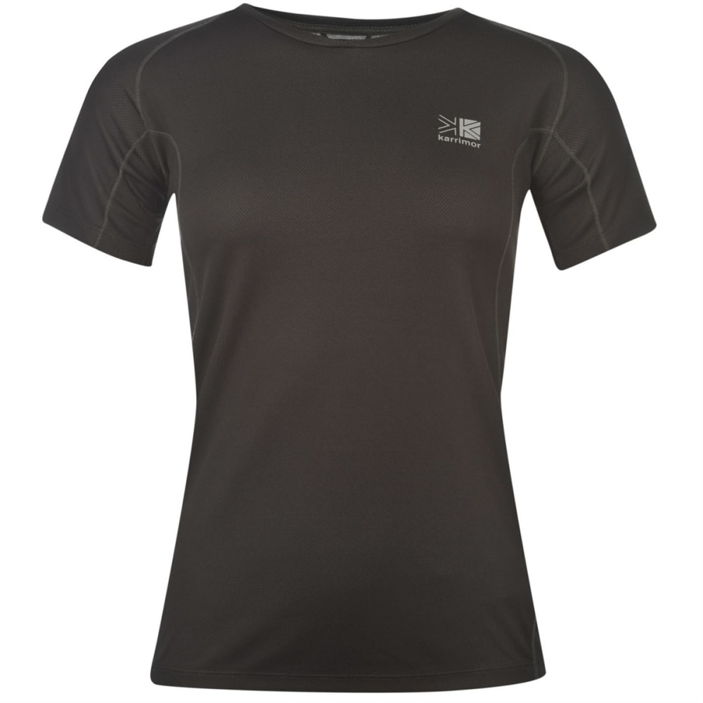 KARRIMOR Women's Technical Short-Sleeve Tee - BLACK