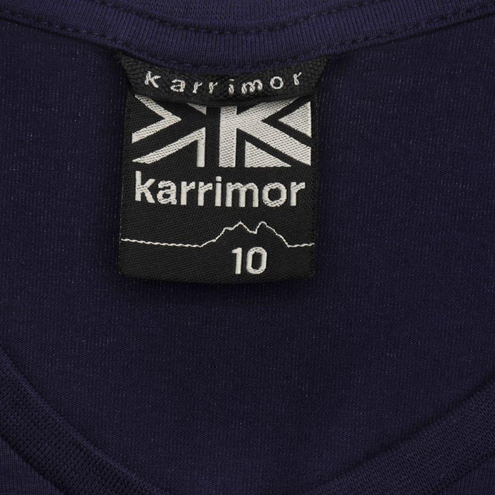 KARRIMOR Women's Organic Graphic Tee - INDIGO