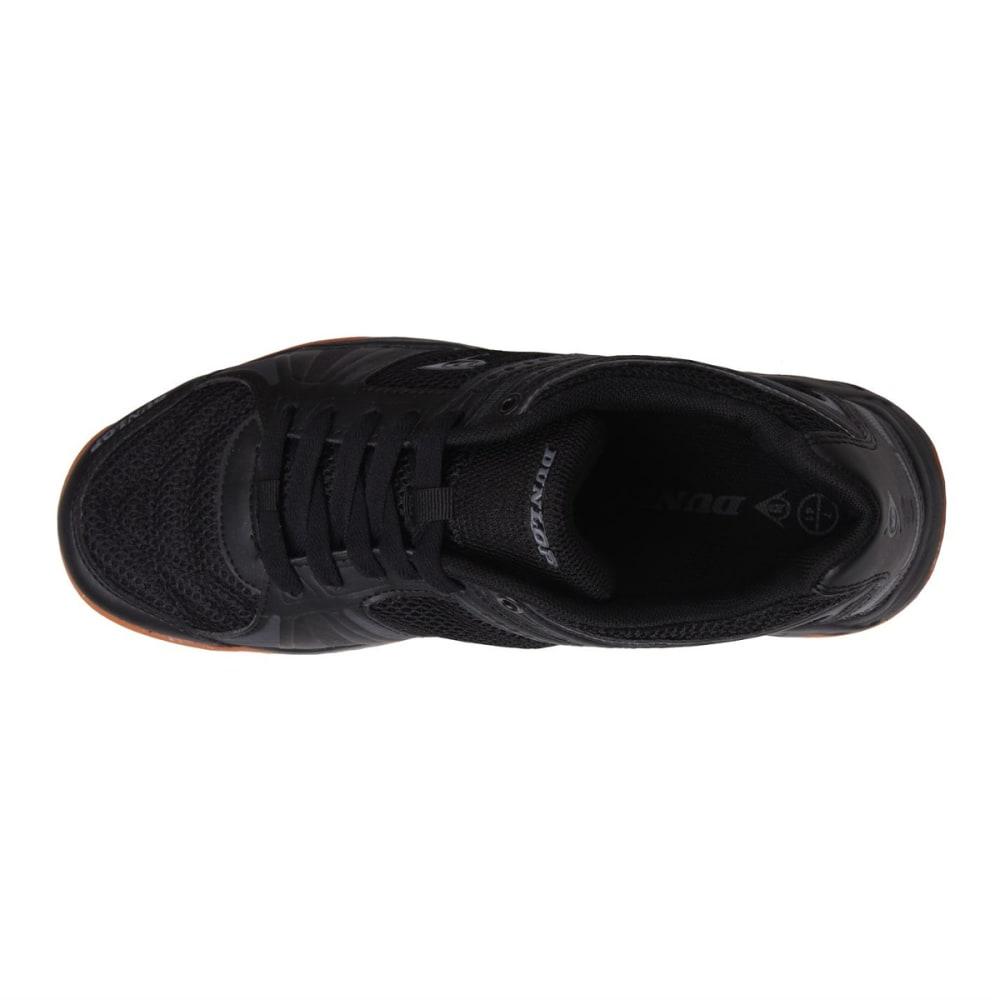 DUNLOP Men's Indoor Court Squash Sneakers - BLACK/CHARCOAL