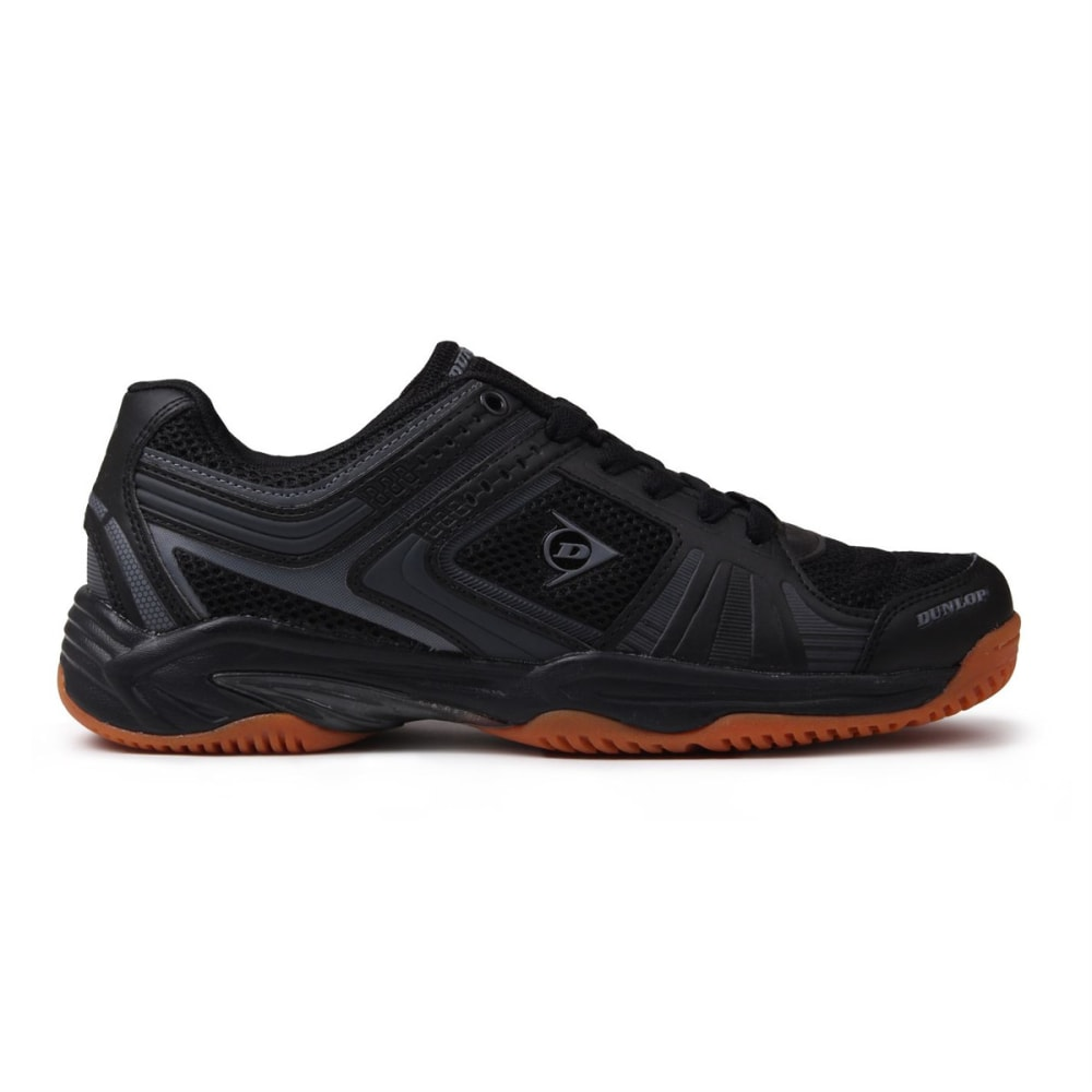 DUNLOP Men's Indoor Court Squash Sneakers - BLACK/CHARCOAL