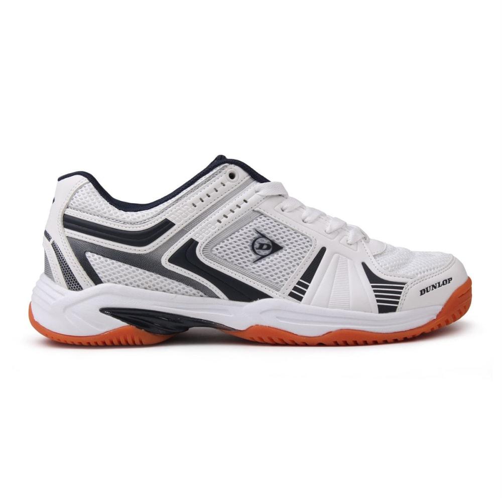 DUNLOP Men's Indoor Court Squash Sneakers - WHITE/NAVY