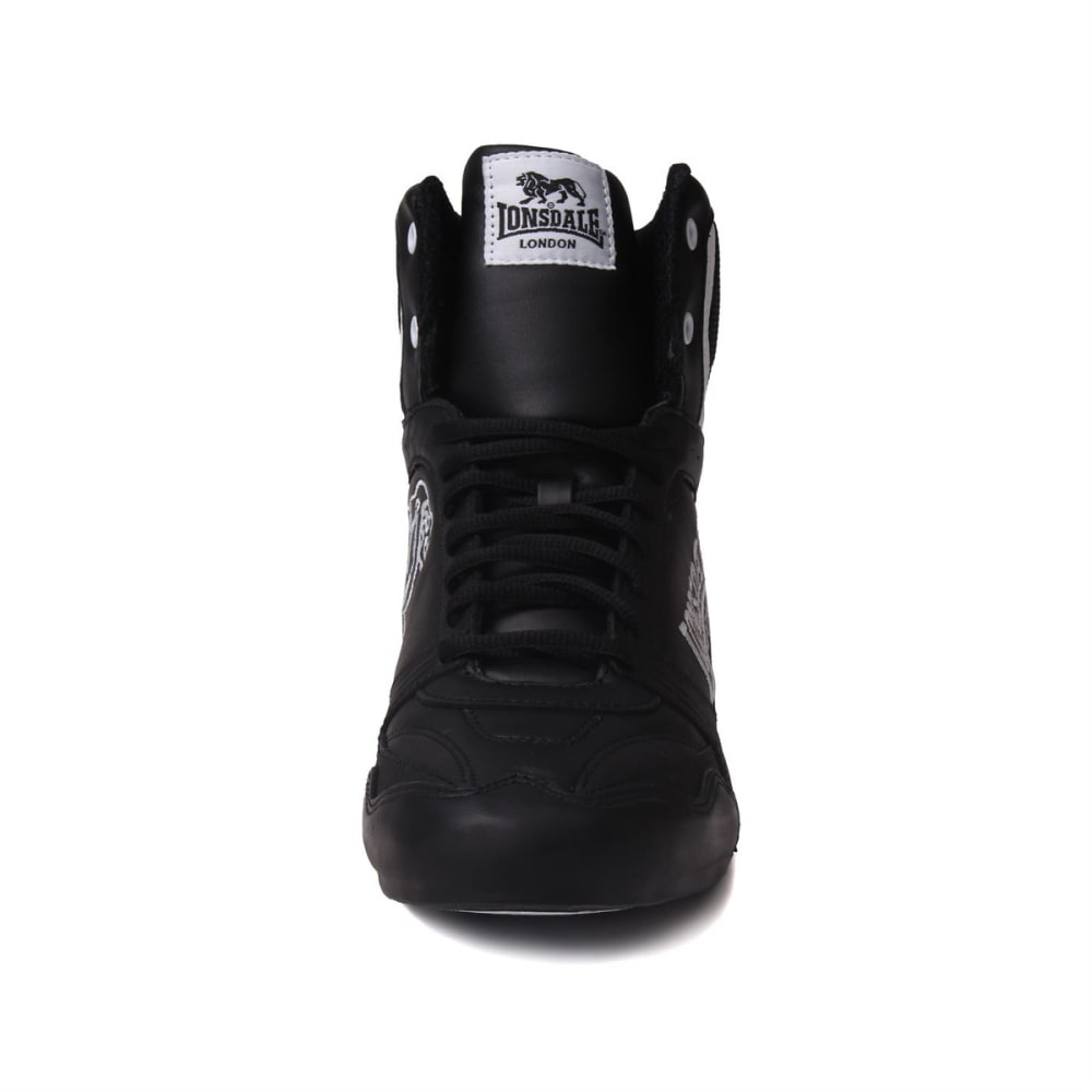 LONSDALE Men's Boxing Boots - BLACK/WHITE