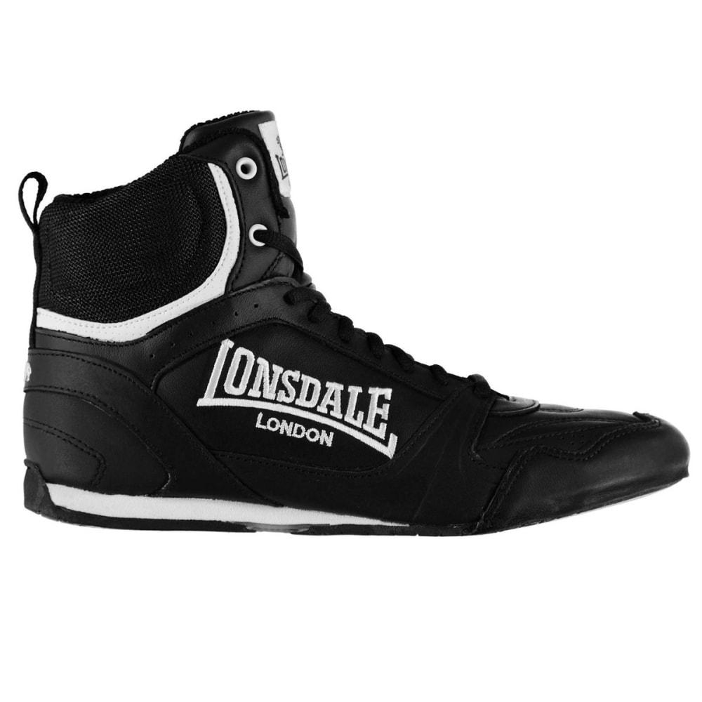 LONSDALE Men's Boxing Boots - BLACK/WHITE