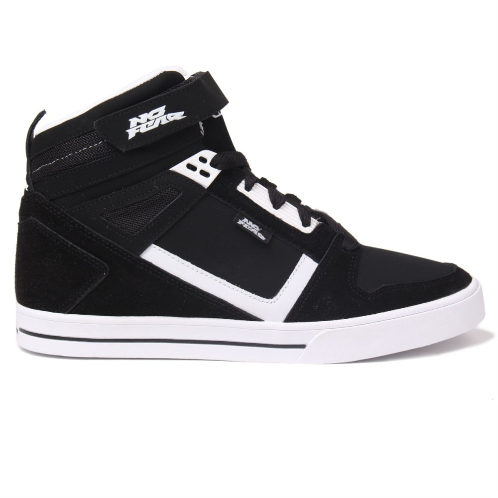 NO FEAR Men's Elevate Skate Shoes - BLACK/WHITE