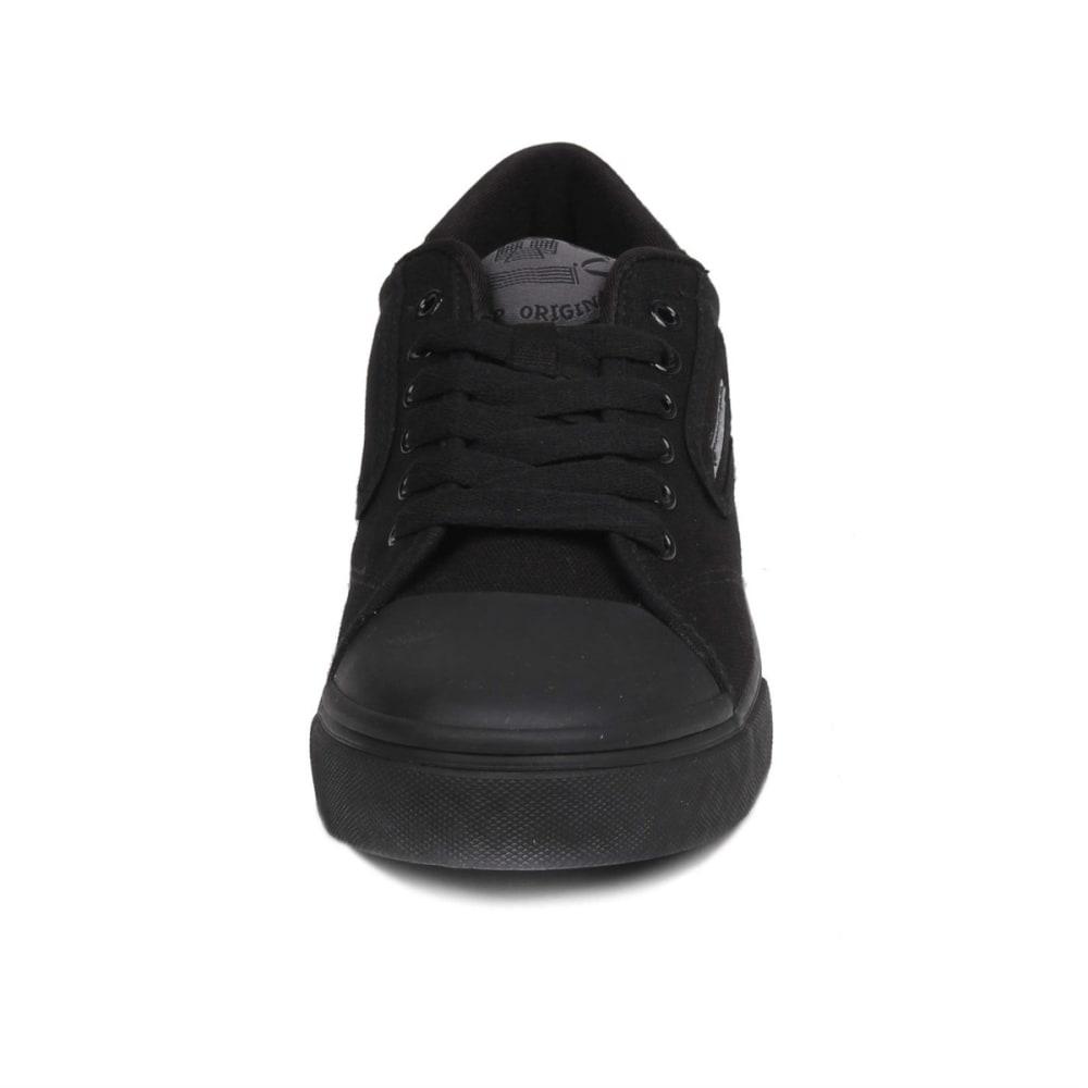 DUNLOP Men's Green Flash Sneakers - BLACK/BLACK