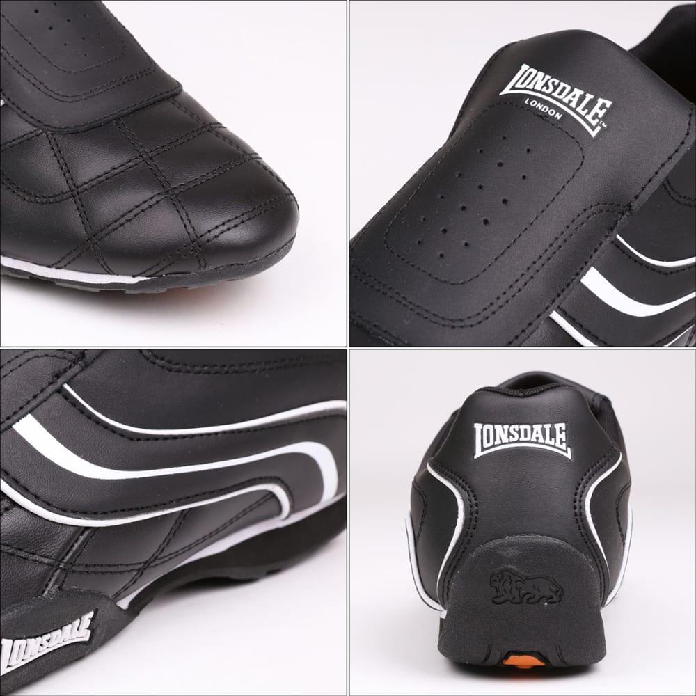 LONSDALE Men's Camden Slip-On Sneakers - BLACK/WHITE