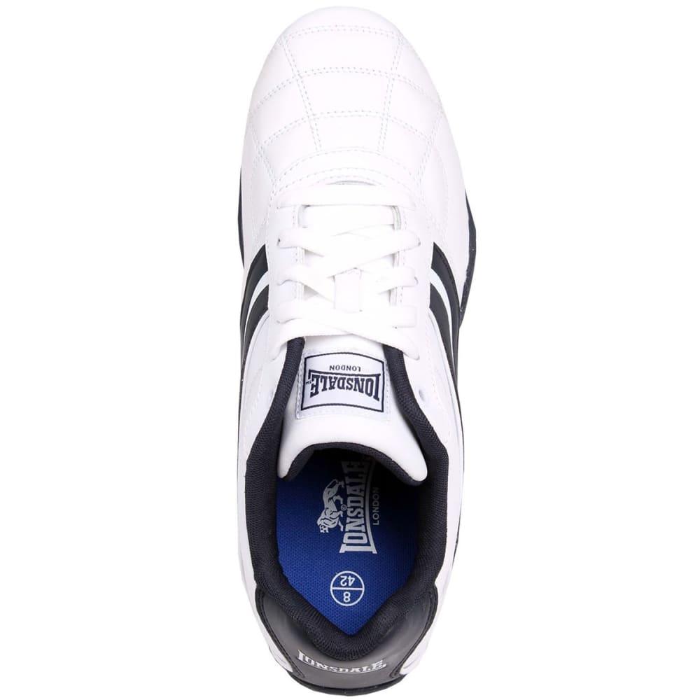 LONSDALE Men's Camden Sneakers - WHITE/NAVY