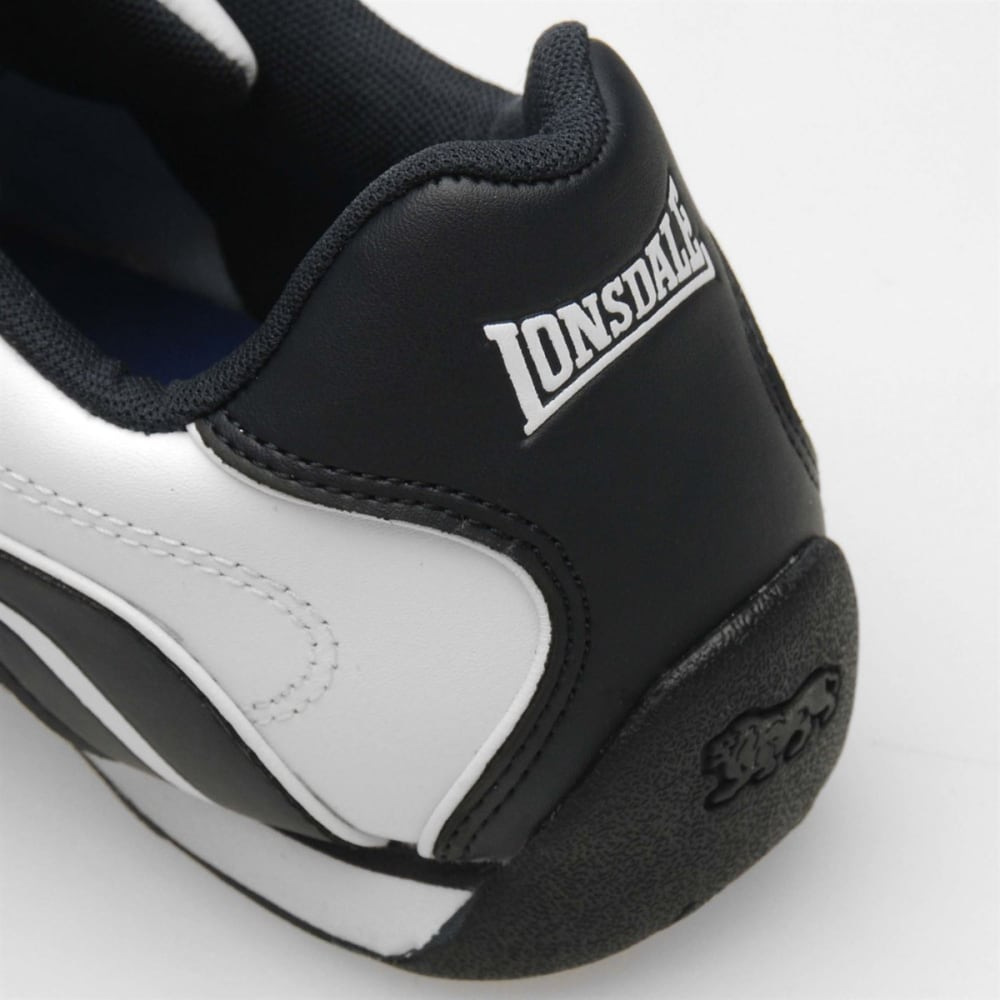 LONSDALE Men's Camden Sneakers - WHITE/NAVY
