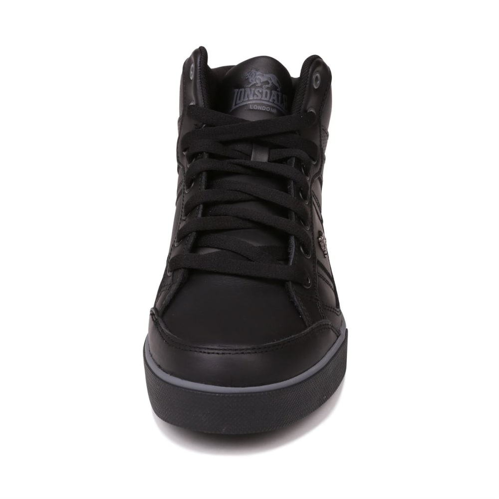 LONSDALE Men's Canons Sneakers - BLACK/CHARCOAL