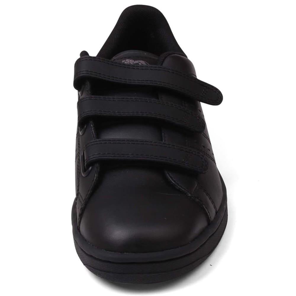 LONSDALE Men's Leyton Velcro Sneakers - BLACK/BLACK