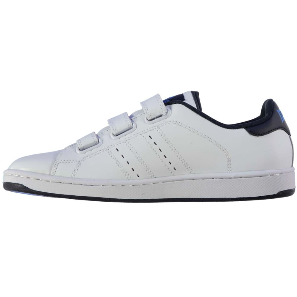 LONSDALE Men's Leyton Velcro Sneakers - WHITE/NAVY