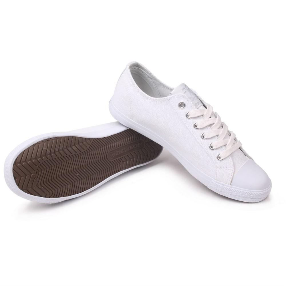 DUNLOP Women's Micro Lo Pro Casual Shoes - WHITE