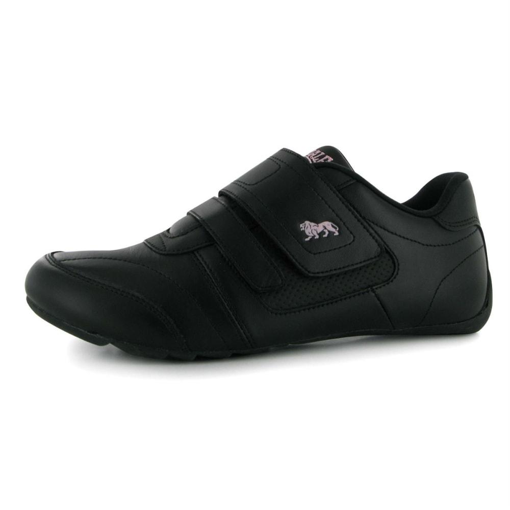 LONSDALE Women's Chelsea Sneakers - BLACK/PURPLE