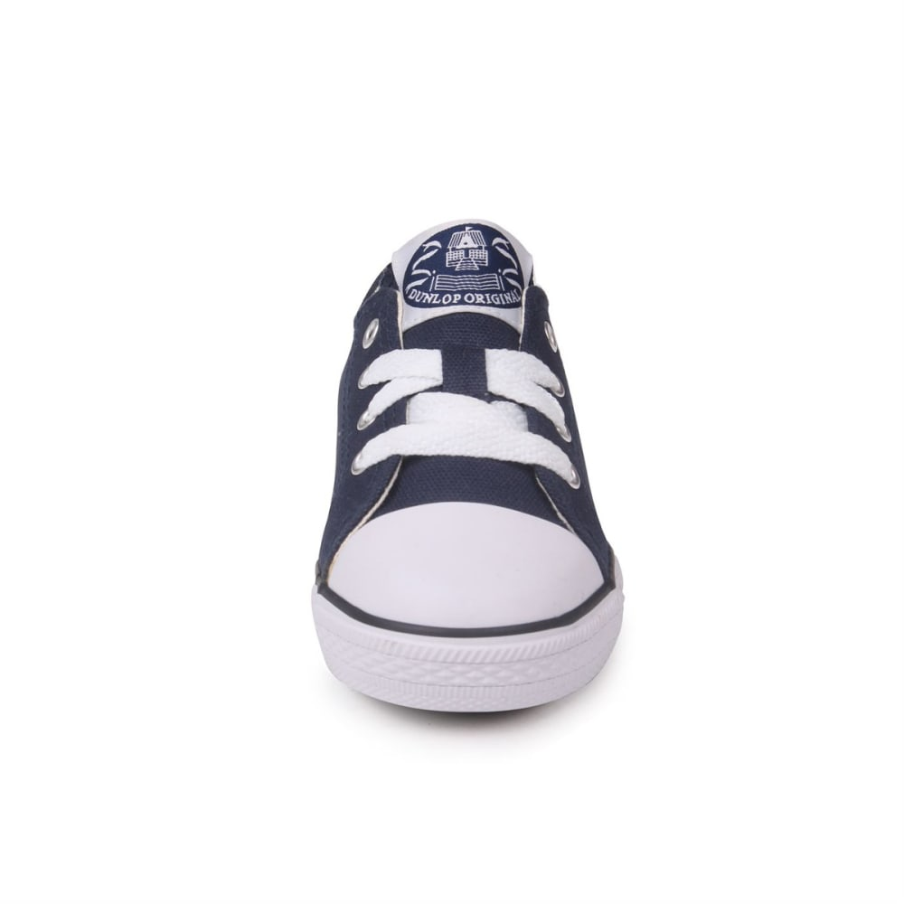 DUNLOP Toddler Unisex Canvas Low Sneakers - NAVY
