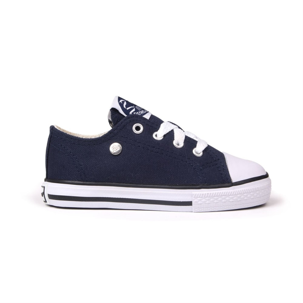 Dunlop Toddler Unisex Canvas Low Sneakers - Blue, 10