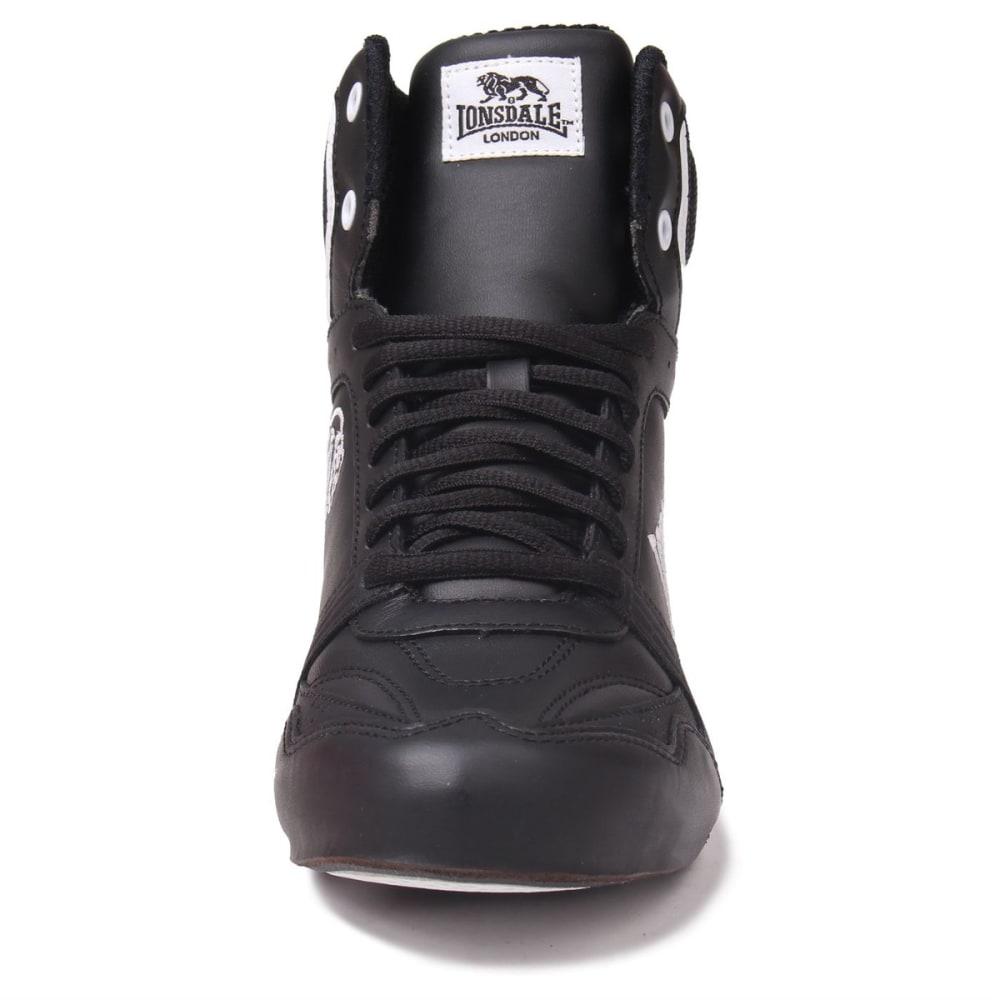 LONSDALE Boys' Boxing Boots - BLACK/WHITE