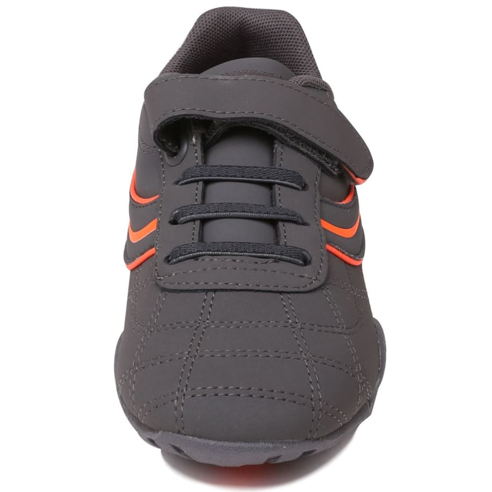 LONSDALE Boys' Camden Sneakers - CHARCOAL/ORANGE