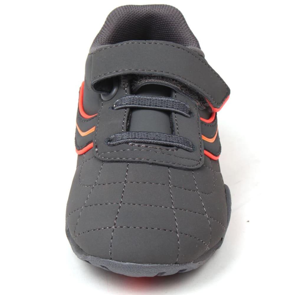 LONSDALE Infant Boys' Camden Sneakers - CHARCOAL/ORANGE