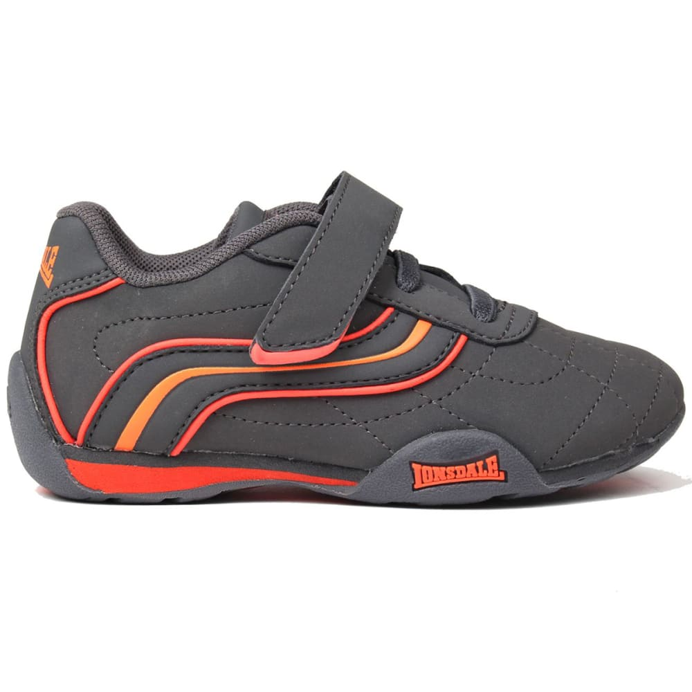 LONSDALE Infant Boys' Camden Sneakers - CHARCOAL/ORANGE