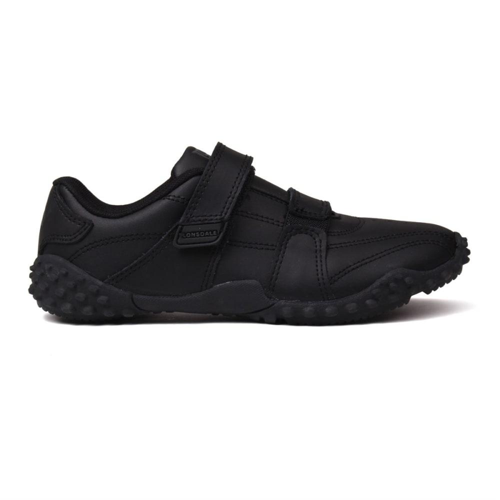 LONSDALE Kids' Fulham Sneakers - BLACK/BLACK