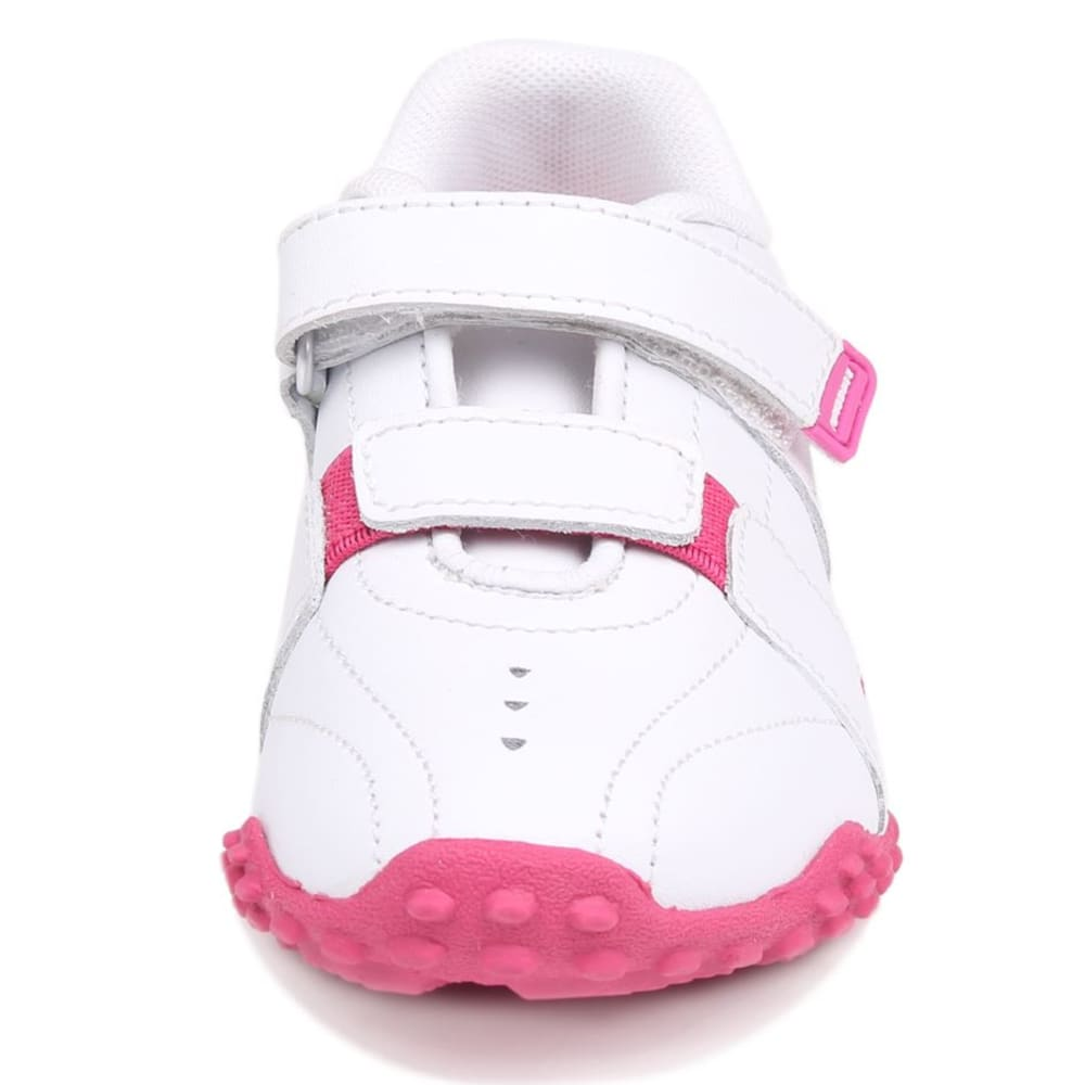 LONSDALE Kids' Fulham Sneakers - WHITE/PINK