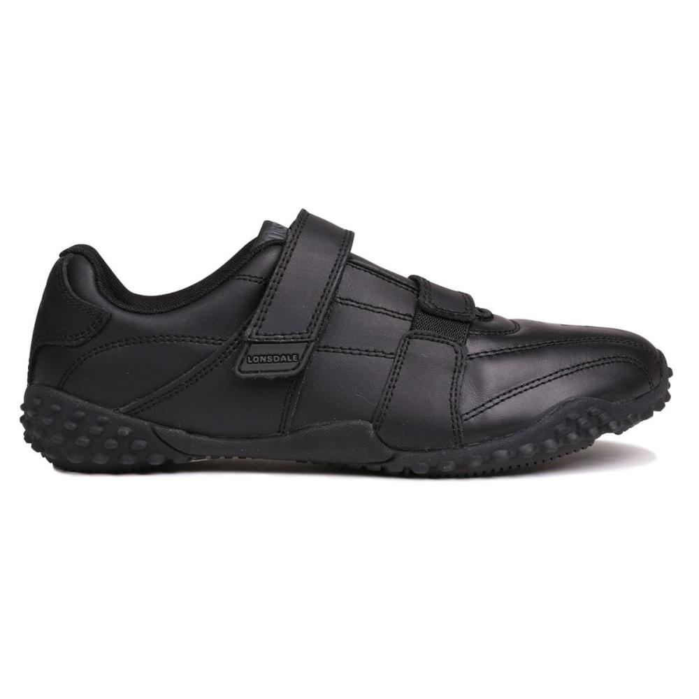 LONSDALE Boys' Fulham Sneakers - BLACK/BLACK