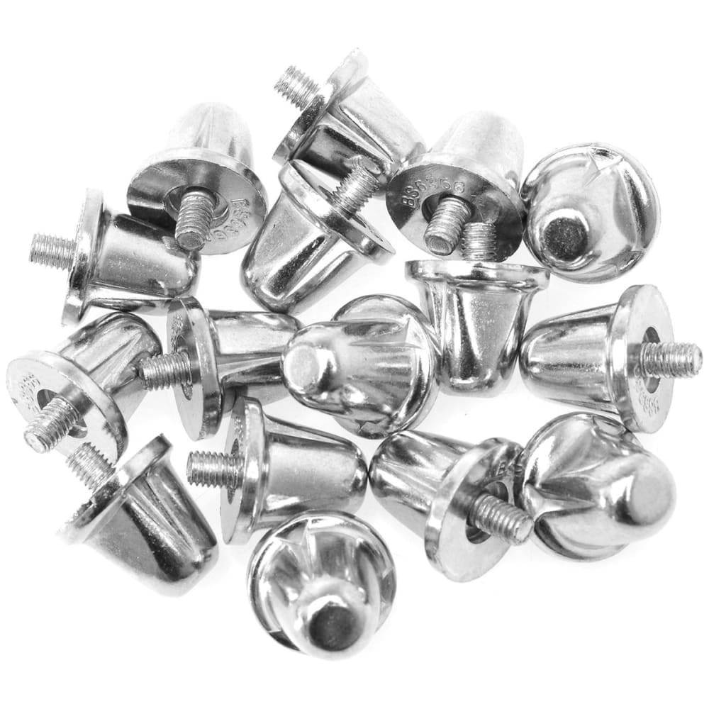 SONDICO Aluminum Rugby Cleat Studs - SILVER