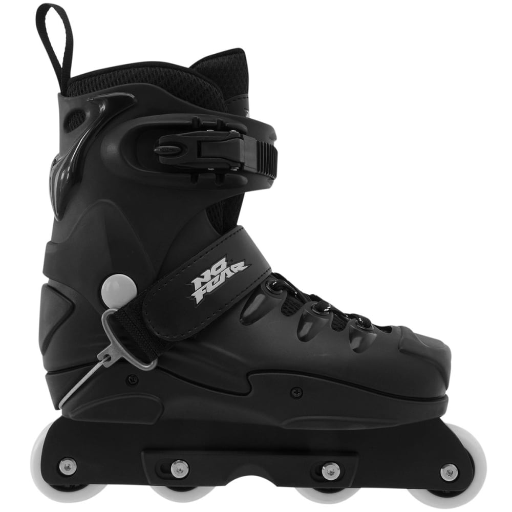 NO FEAR Men's Aggressive Rollerblades - BLACK
