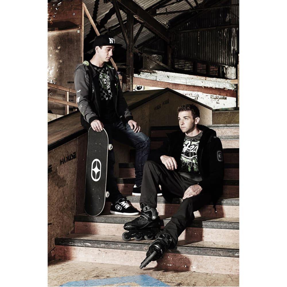 NO FEAR Men's Fitness In-Line Skates - BLACK/GREY