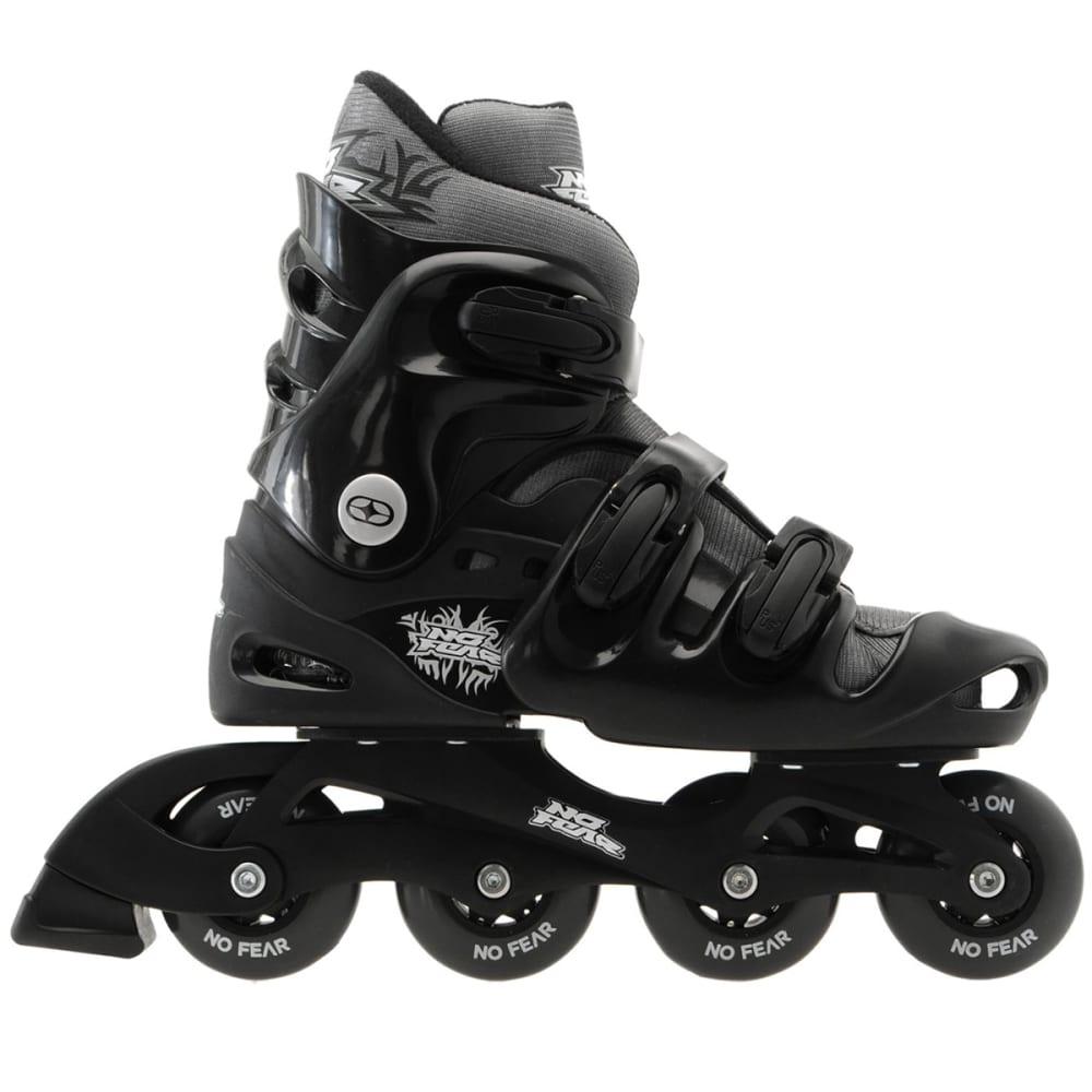 NO FEAR Men's Inline Skates - BLACK/CHARCOAL