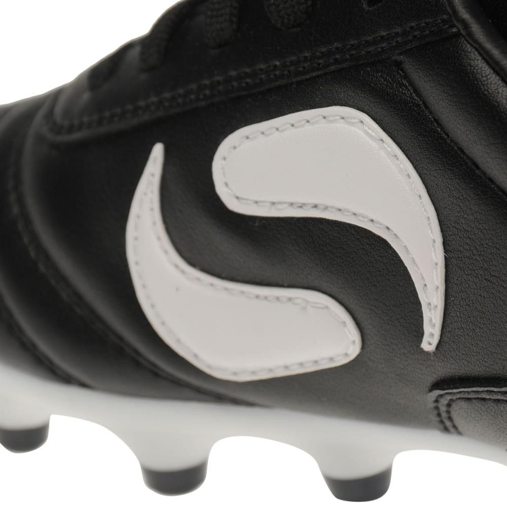 SONDICO Kids' Strike Firm Ground Soccer Cleats - BLACK/WHITE