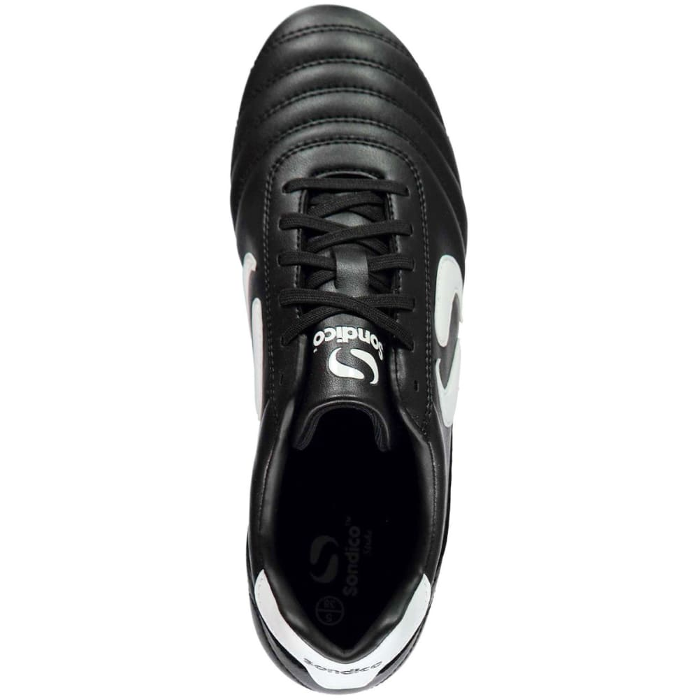 SONDICO Kids' Strike Soft Ground Soccer Cleats - BLACK/WHITE
