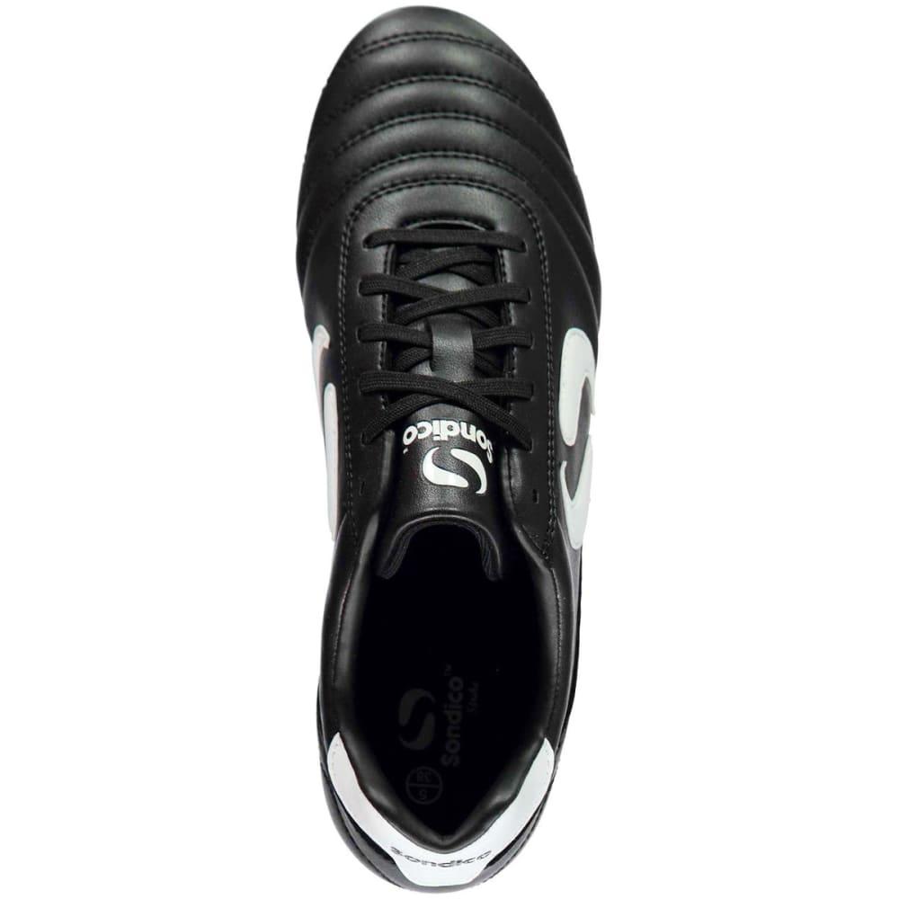 SONDICO Kids' Strike Soft Ground Soccer Cleats - BLACK/WHITE