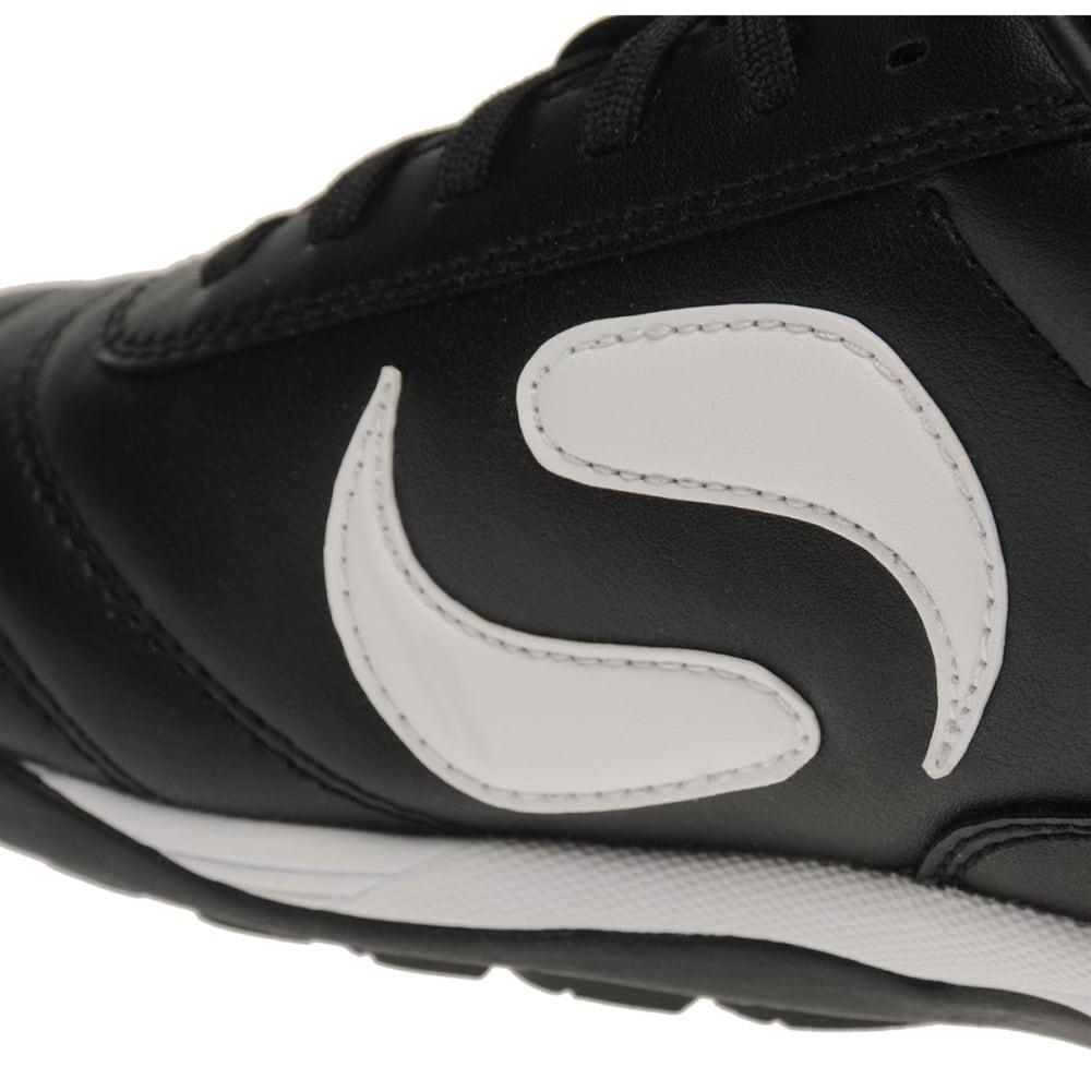 SONDICO Kids' Strike Astro Turf Soccer Cleats - BLACK/WHITE