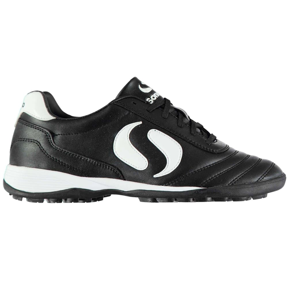 SONDICO Kids' Strike Astro Turf Soccer Cleats - BLACK/WHITE