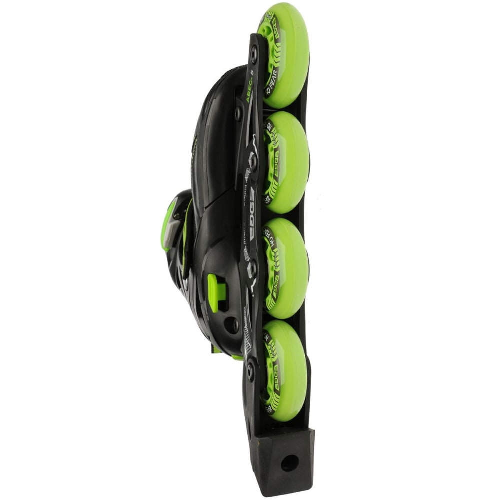 NO FEAR Kids' Edge In-Line Skates - BLACK/GREEN