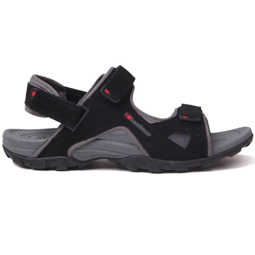 KARRIMOR Men's Antibes Sandals - BLACK/CHARCOAL
