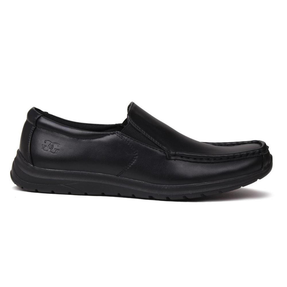 Giorgio Men's Bexley Slip-On Casual Shoes - Black, 8
