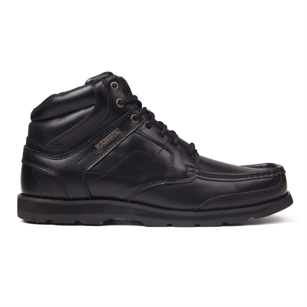KANGOL Men's Harrow Lace-Up Low Boots - BLACK