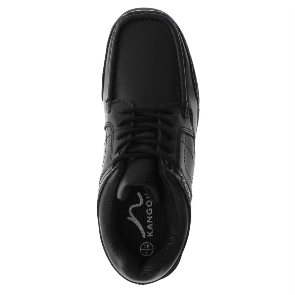 KANGOL Men's Harrow Lace-Up Casual Shoes - BLACK