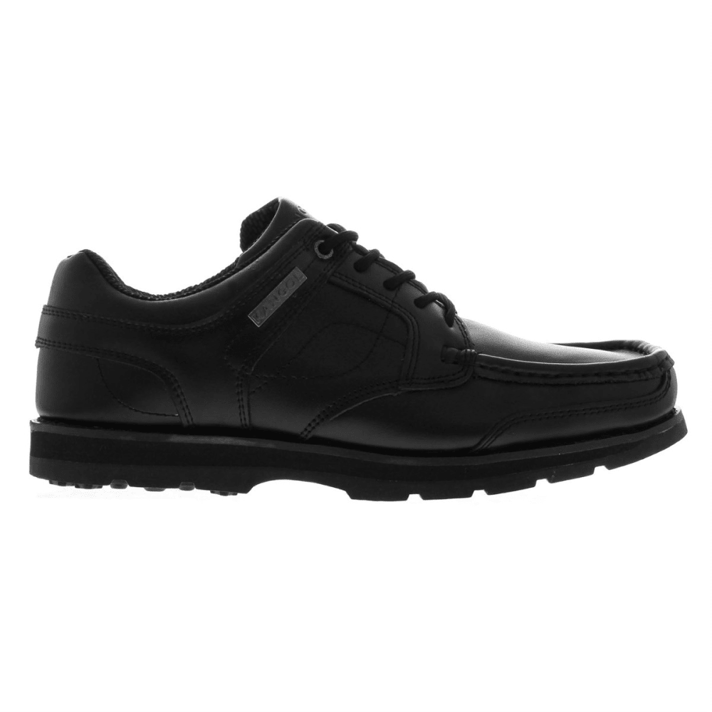 KANGOL Men's Harrow Lace-Up Casual Shoes - BLACK