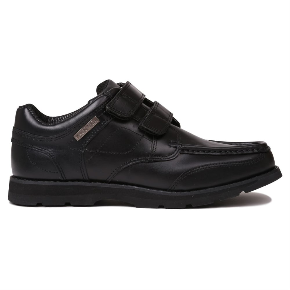 KANGOL Men's Harrow Velcro Casual Shoes - BLACK