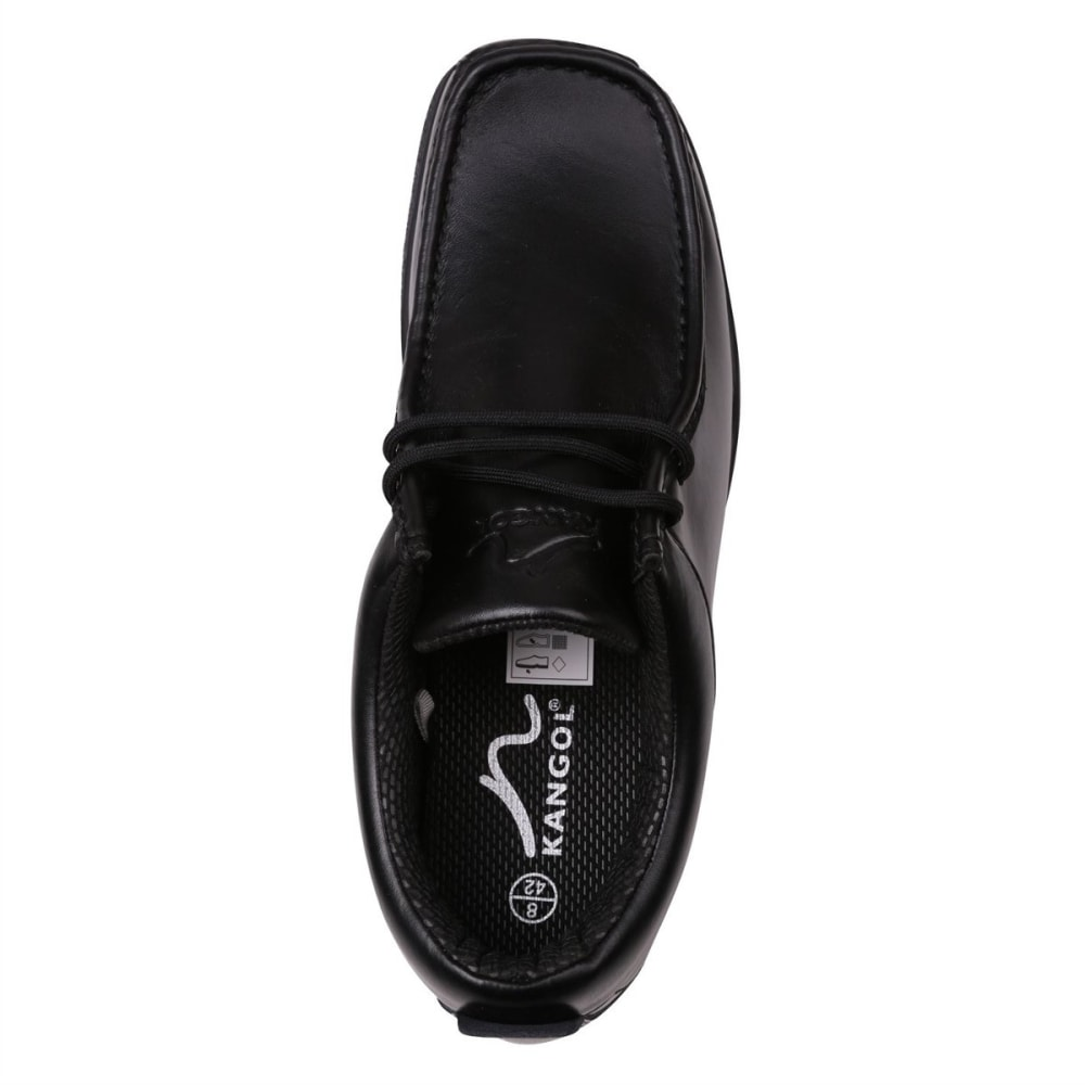 KANGOL Men's Waltham Lace-Up Casual Shoes - BLACK