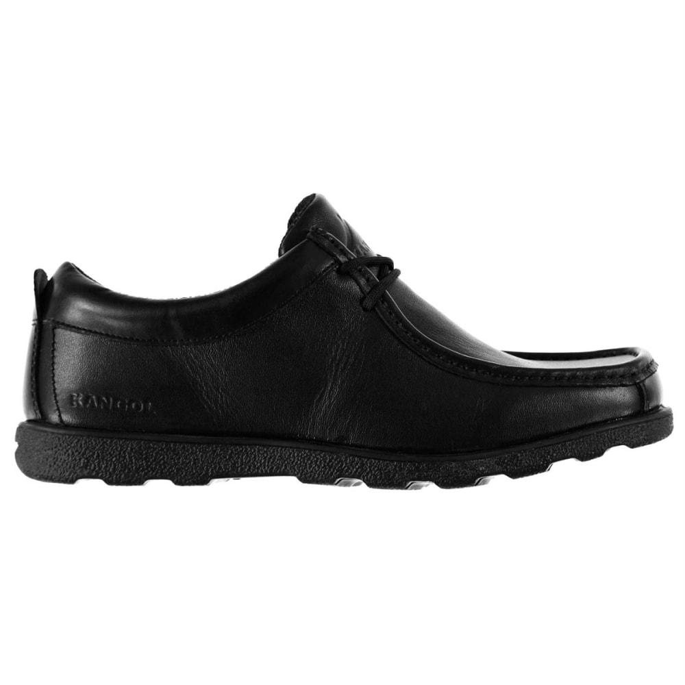 KANGOL Men's Waltham Lace-Up Casual Shoes - BLACK