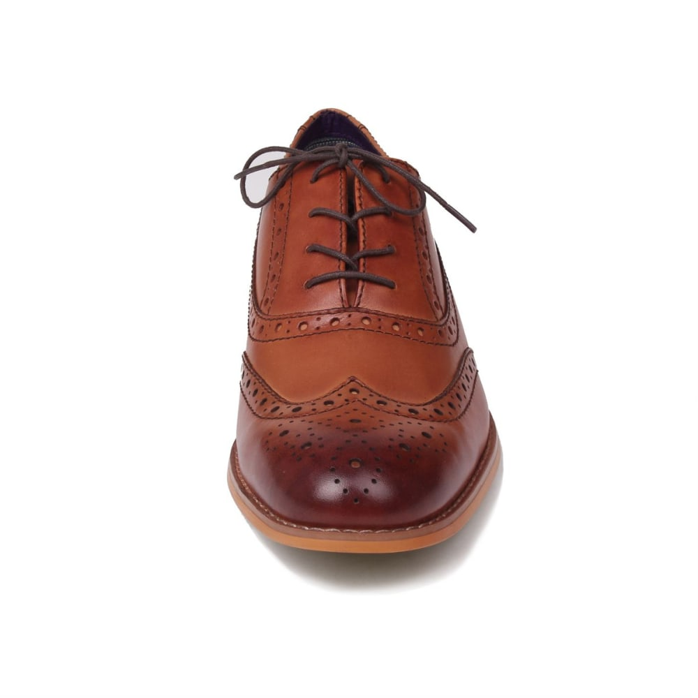 FIRETRAP Men's Spencer Lace-Up Dress Shoes - BROWN