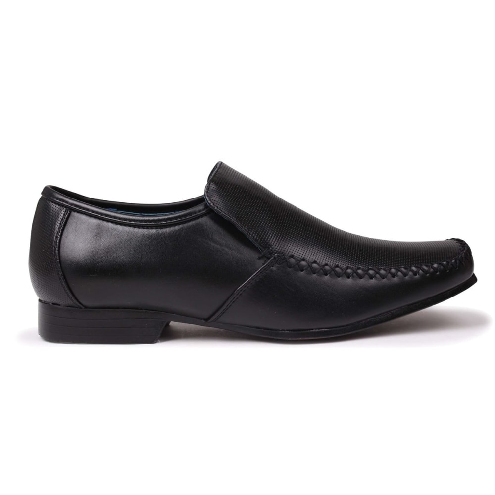 GIORGIO Men's Adams Perforated Slip-On Dress Shoes 7